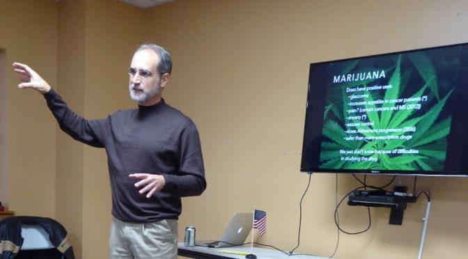 Dr. David Blank explains why legalizing marijuana is NOT a good idea.