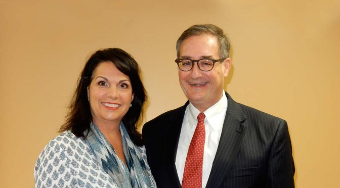 Connie Eckert and John Ruckelshaus at Eagle Forum